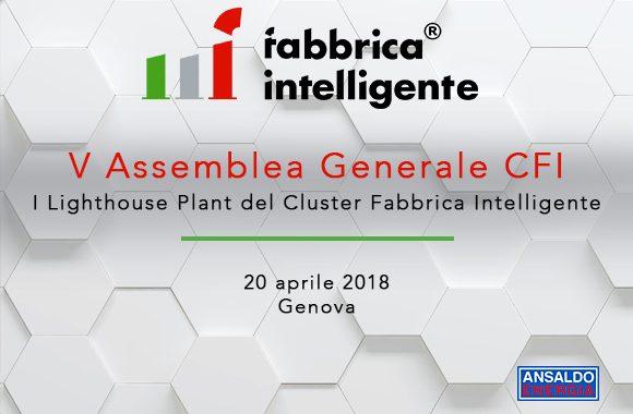 """V Assemblea Generale CFI ed Evento Pubblico   """"I Lighthouse del Cluster Fabbrica Intelligente"""""""