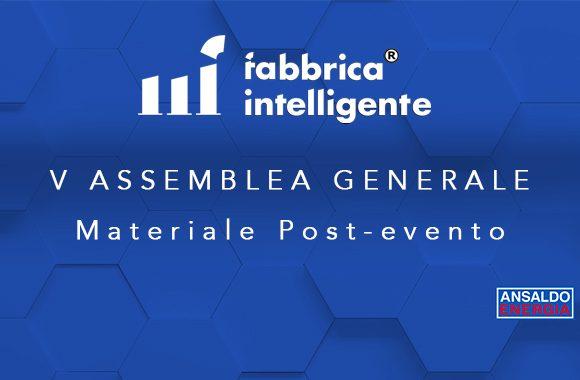 V Assemblea Generale CFI – Materiale post evento