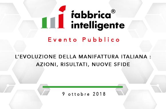 Cluster Nazionale Fabbrica Intelligente – L'evoluzione della manifattura italiana: azioni, risultati, nuove sfide