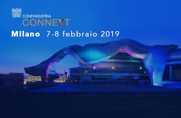 Milano 7-8 febbraio, il Cluster Fabbrica Intelligente partecipa a Connext.